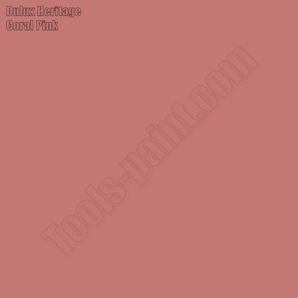 Dulux Heritage Coral Pink